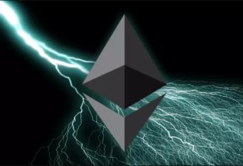 Ethereum Lighting elaborazione grafica