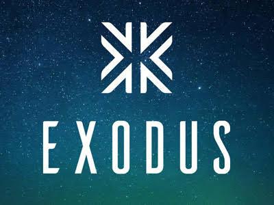 il logo di exodus wallet