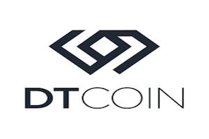 il logo di dt coin