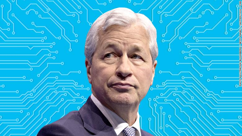 Il CEO di JP Morgan Jamie Dimon