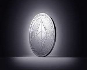 moneta con logo di Ethereum