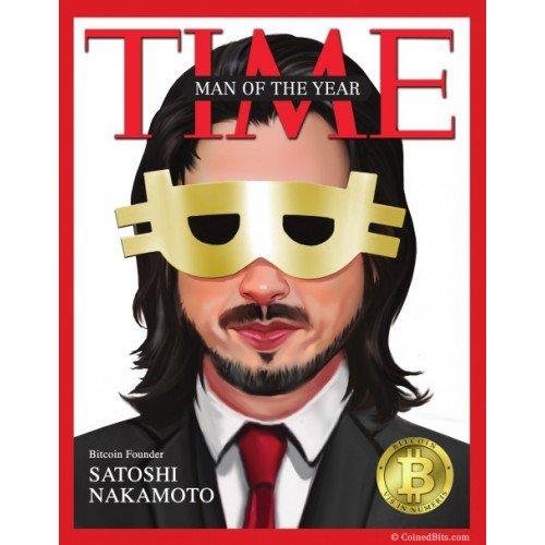 la copertina di Time dedicata a Satoshi Nakamoto