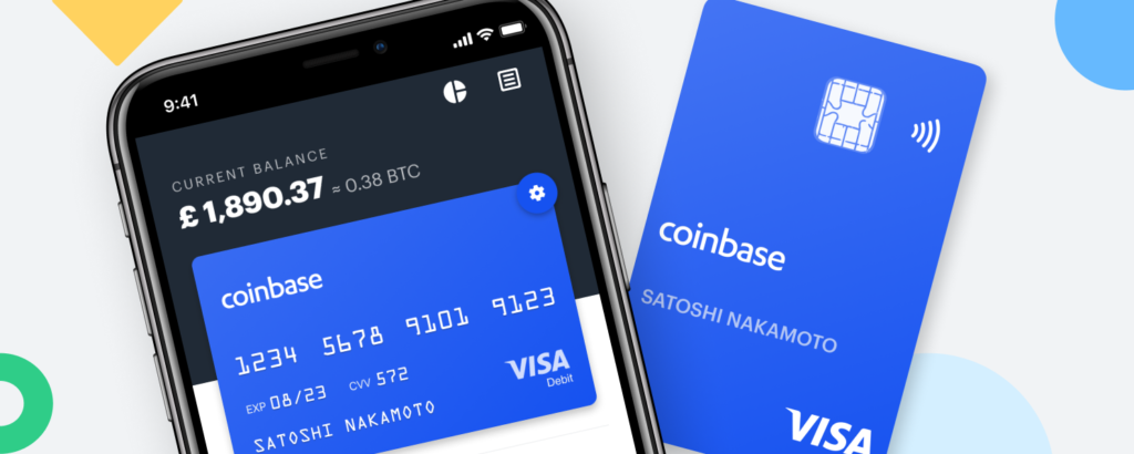 card e app di Coinbase Card