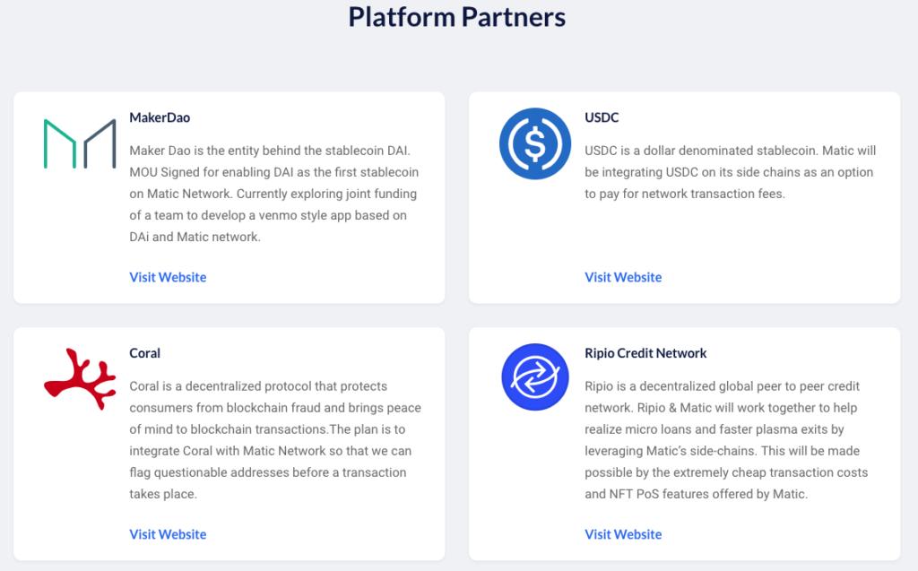 i partner di Matic Network