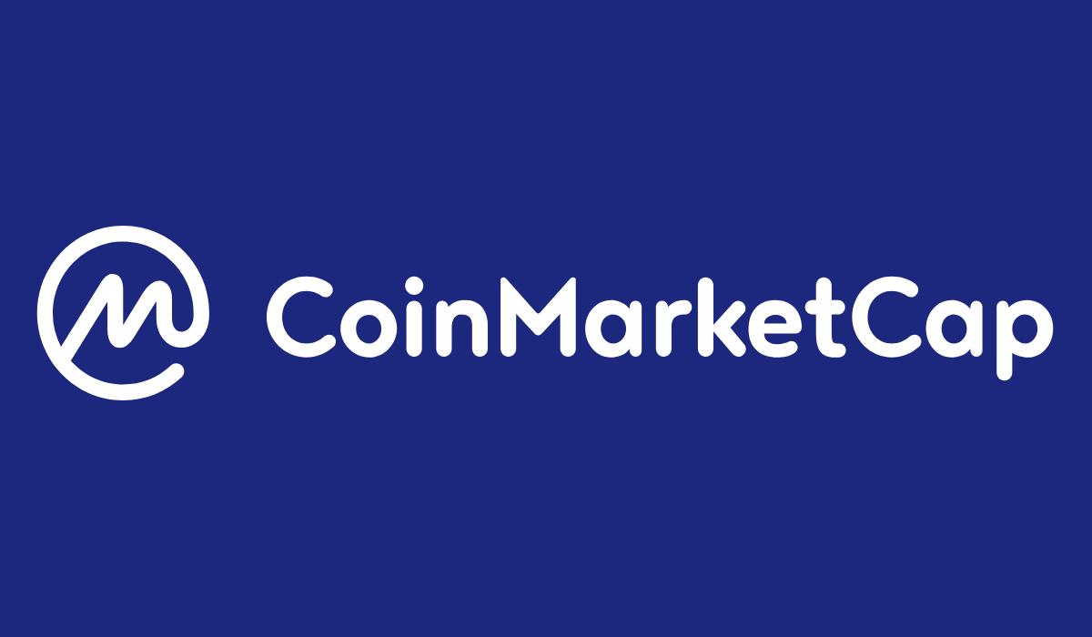 il logo di coinmarketcap