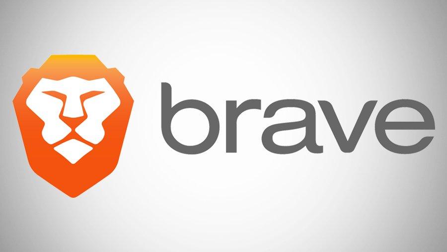 il logo di brave browser