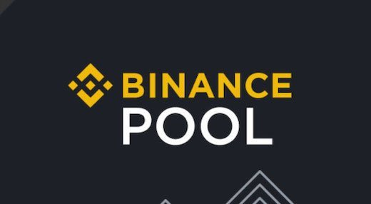 il logo di binance pool