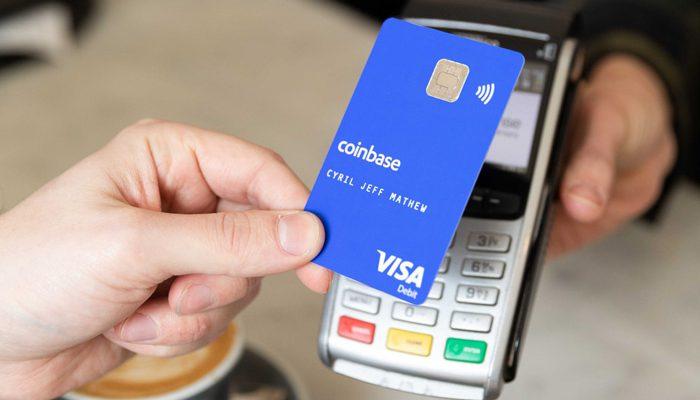 coinbase card visa