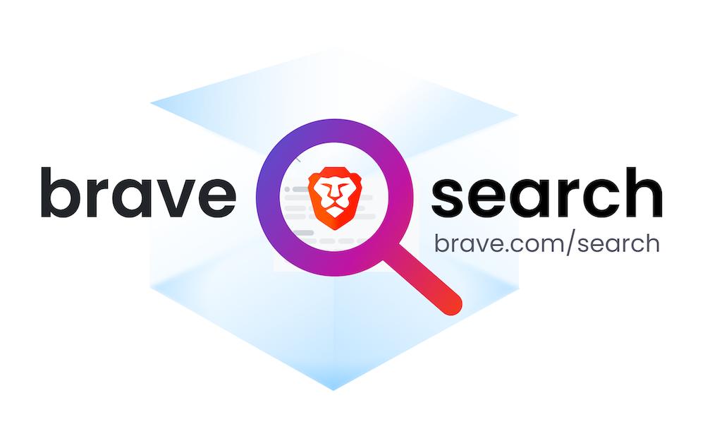 il logo di brave search