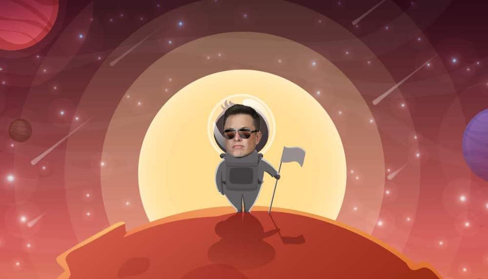 Elon Musk su Marte